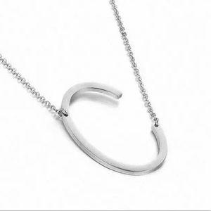 Initial C Necklace